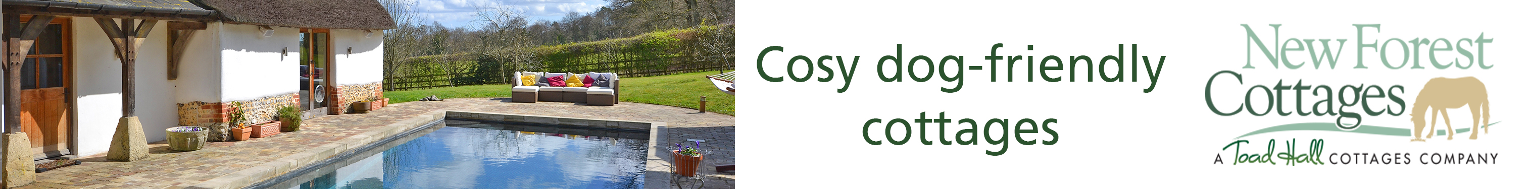 New Forest Cottages Banner