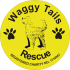 Waggy Tails Rescue logo