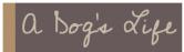 A Dog's Life logo